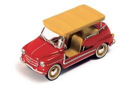 Fiat 600 Jolly 1960 rot / beige