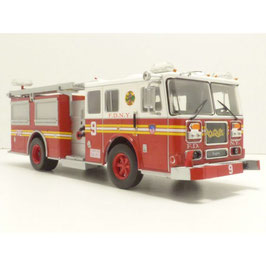 "Seagrave Firetruck ""New York Fire Department 1989 rot / weiss / gelb"""