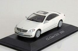 Mercedes-Benz CL-Klasse C216 2006-2013 weiss met.