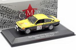 Opel Kadett C Coupé GT/E #13 Mintex Rallye 1977 W. Röhrl / M. Broad