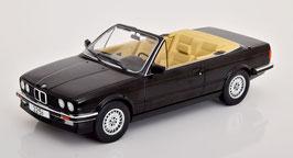 BMW 325i E30 Cabriolet Phase I 1985-1991 schwarz