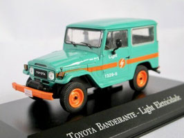 "Toyota Land Cruiser / Bandeirante 1959-2001 ""Light Eletricidade hellgrün / orange"