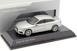 Audi A5 II Sportback F5 Phase I 2017-2020 Florett silber met.