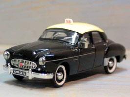 Renault Fregate Berline Taxi 1951-1960 schwarz / gelb