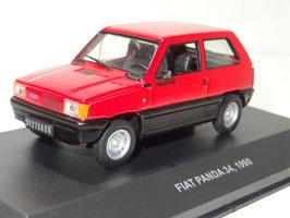 Fiat Panda Phase I 1980-1986 rot / schwarz