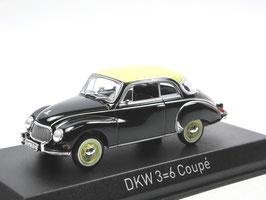 DKW 3=6 Coupé F93 1955-1959 schwarz / beige 1:43 von NOREV