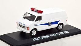 "Dodge RAM B250 Van 1980 ""Indiana State Police weiss / blau"""