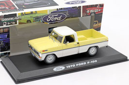 Ford F-100 Pick / Up 1970 hellgelb / weiss