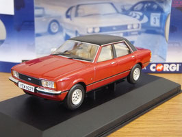 Ford Cortina MK IV 2.0 Ghia 1976-1979 RHD Jupiter red / schwarz