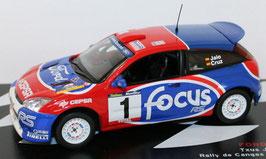 Ford Focus WRC #1 Rally de Cangas del Narcea 2002 T. Jalo / L. Cruz