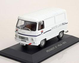 """Peugeot J7 1965-1980 """"Fila"""" weiss"""