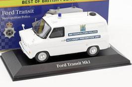 "Ford Transit MKI 1965-1978 ""Metropolitan Police"" RHD weiss"