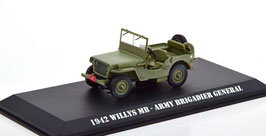 """Jeep Willys MB Army 1942 """" TV-Serie MASH 1972-1983 oliv"""""""