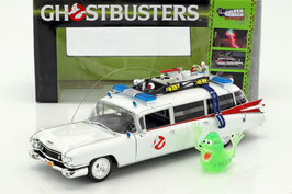 "Cadillac Ambulance Ecto-1 1959 ""Film Ghostbusters 1984"" weiss / rot"