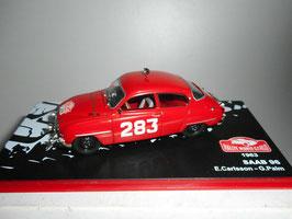Saab 96 Limousine #283 Rallye Monte Carlo 1963 E. Carlsson / G. Palm rot / weiss