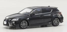 Lexus CT200h Phase II sei 2018 RHD Graphite schwarz met.