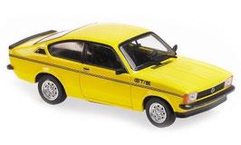 Opel Kadett C Coupé GT/E Phase II 1977-1979 gelb / schwarz