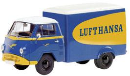 """Tempo Matador Kastenwagen 1955-1963 """"Lufthansa"""" blau / gelb / weiss"""