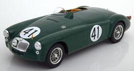 MG A EX182 #41 24h Le Mans 1955 Miles / Lockett dunkelgrün