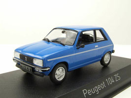 Peugeot 104 ZS 1979-1986 blau / schwarz