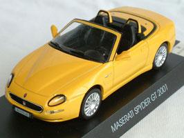 Maserati Spyder 2001-2007 gelb
