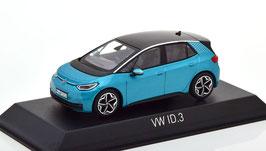 VW ID.3 seit 2020 türkis met. / schwarz