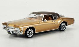 Buick Riviera Coupé 1970-1973 gold / braun met.