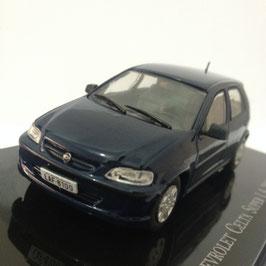Chevrolet Celta II Super 1.4 2006-2012 dunkelblau met. / Brasil