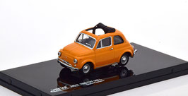Fiat 500 L 1965-1975 Giallo Positano / Faltdach offen schwarz