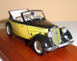 IFA F8 Cabriolet 1949-1955 gelb / schwarz