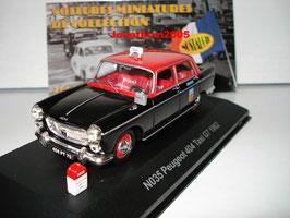 "Peugeot 404 Berline 1960-1975 / bis 1989 Afrika ""TAXI G7 1962 schwarz / rot"""