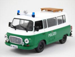 Barkas B1000 Bus 1957-1991 Polizei DDR grün / weiss