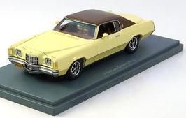 Pontiac Grand Prix 1972-1977 hellgelb / braun