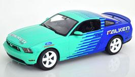 """Ford Mustang GT 2010 """"Falken Tires blau / hellgrün / weiss"""""""