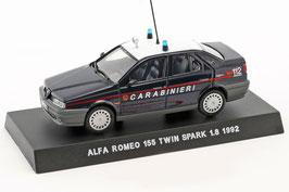 Alfa Romeo 155 1.8 Twin Spark 1992 Carabinieri dunkelblau / weiss / rot