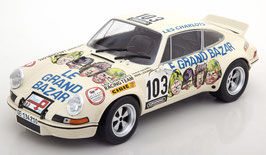 "Porsche 911 Carrera 2.8 RSR 1973 ""Le Grand Bazar"" #103 weiss / Decor"