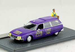 "Citroën CX Break Phase I 1975-1985 ""TV-R. Jouradia violett / gelb"" Diorama"