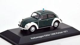 VW Käfer 1200 Polizei 1971 dunkelgrün / weiss
