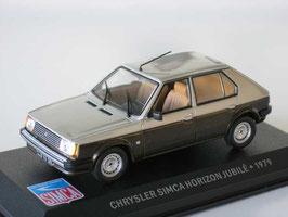 "Chrysler Simca Horizon ""Jubile"" 1979 dunkelbraun / silber met."