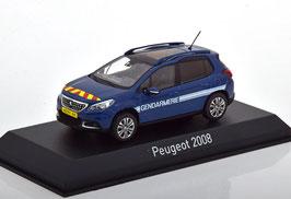 "Peugeot 2008 Phase II 2016-2020 ""Gerndarmerie France dunkelblau / weiss"""