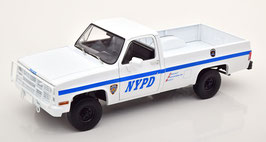 Chevrolet CUCV M1008 Pick Up 1984 NYPD New York Police Departement weiss / blau