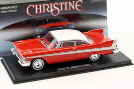 "Plymouth Fury 1958 ""Film Christine 1983"" rot / weiss"