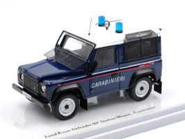 "Land Rover Defender 90 1990-2016 ""Carabinieri dunkelblau / weiss / rot"