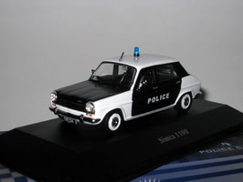 "Simca 1100 Phase I 1967-1975 ""Police France schwarz / weiss"""