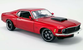 Ford Mustang Boss 429 Street Fighter 1970 dunkelrot met. / matt-schwarz