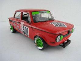 NSU TT CUP Racing #500 H. Fleischhauer rot / grün / Decor