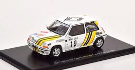 Renault 5 GT Turbo #19 Rallye Monte Carlo 1989 A. Oreille /G. Thimonier weiss / Decor