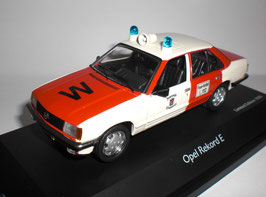 Opel Rekord E Phase I 1977-1982 Feuerwehr Wuppertal weiss / rot