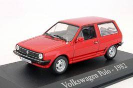 VW Polo II Steilheck 1981-1990 rot