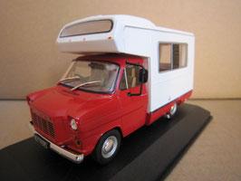Ford Transit MK I CI Autohome Camper 1975 RHD rot / weiss